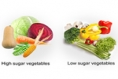 5 High Sugar Vegetables and 5 Low Sugar Vegetables