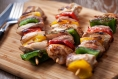 A New Take on Tacos: Chipotle Chicken Kebabs