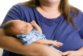 Babies of overweight, obese, or diabetic mothers have an increased risk of lung problems