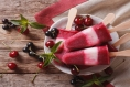 Cherry Almond Popsicles