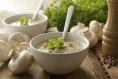 Creamy Crimini Mushroom Soup