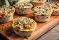 Flavor Combination Ideas for Bariatric Patients' High Protein Egg Muffin Cups