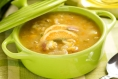 Lemony Chicken and Cabbage Soup