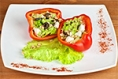 Taco Inspired Brunch Stuffed Peppers