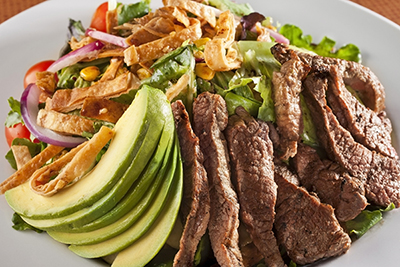Bariatric Friendly Steak and Avocado Salad