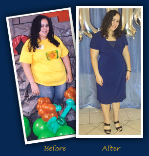 Queila F., Kissimmee- Before and After